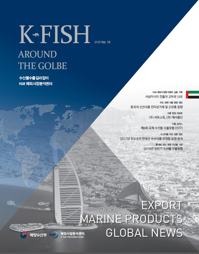 [Vol.10] K * Fish Around The Globe (2018년 2분기) 표지