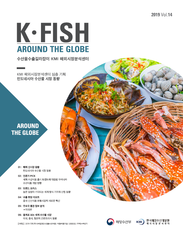 [Vol. 14] K * Fish Around The Globe (2019년 2분기) 표지