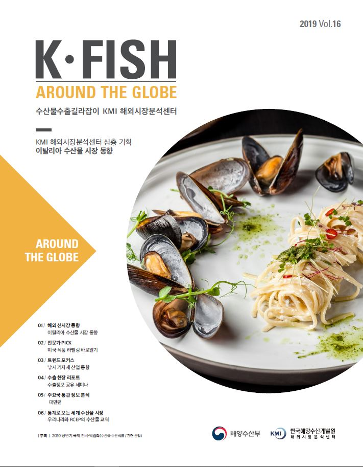 [Vol. 16] K * Fish Around The Globe (2019년 4분기) 표지